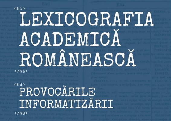 Detaliu afis lexicografie