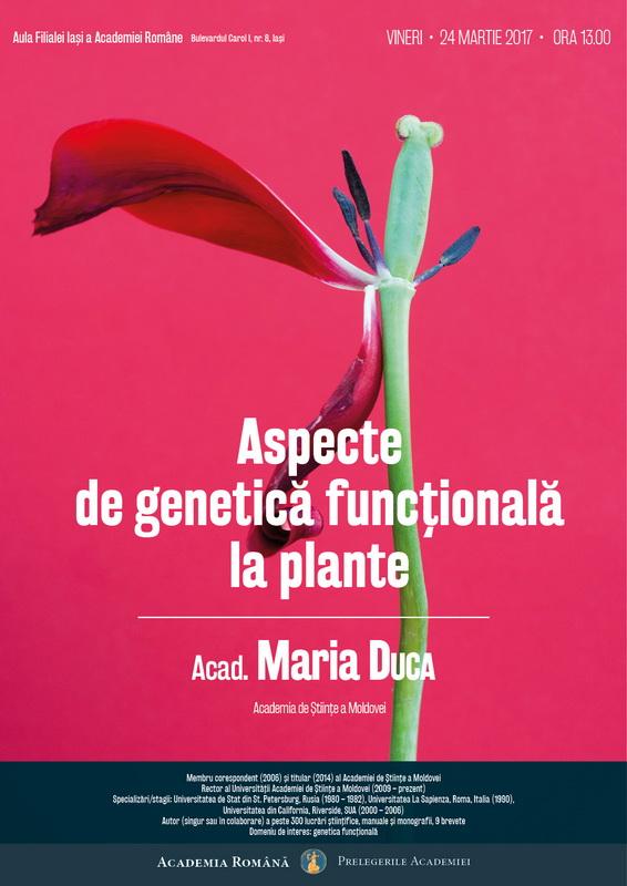 AFIS Maria Duca Aspecte de genetică funcțională la plante