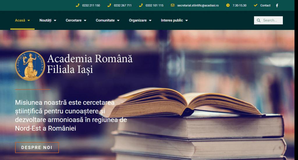 Romanian Academy, Iasi Branch 2